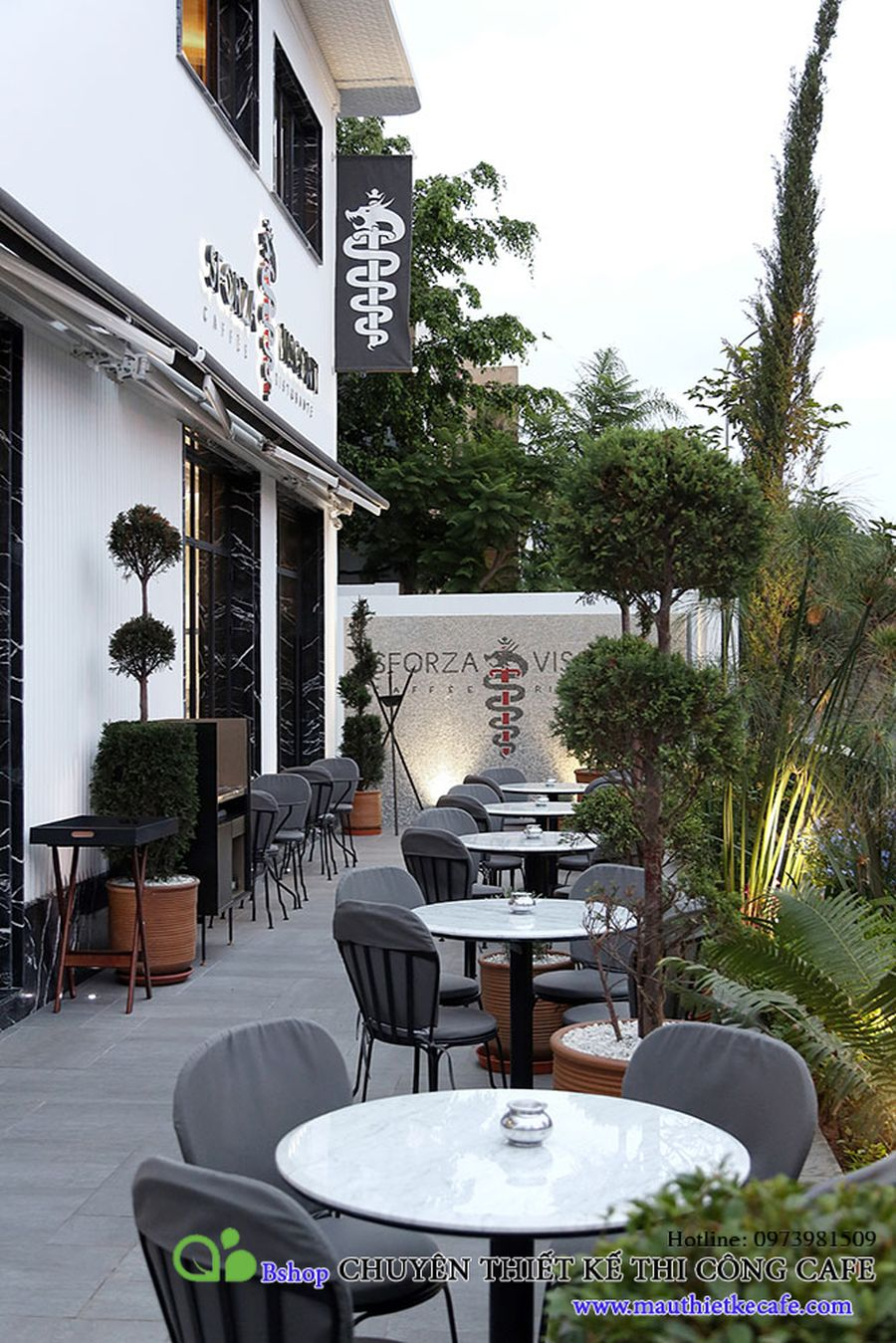 cafe Sforza-Visconti sang trong trong long almaz (2)mauthietkecafe.com