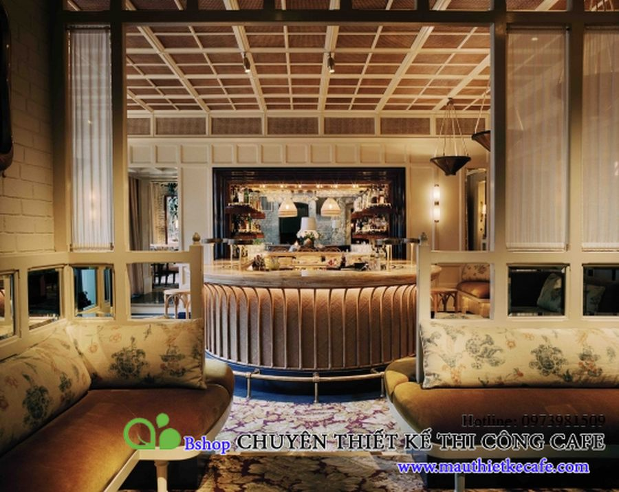 cafe nha hang biet thu phong cach chau au (12)mauthietkecafe.com