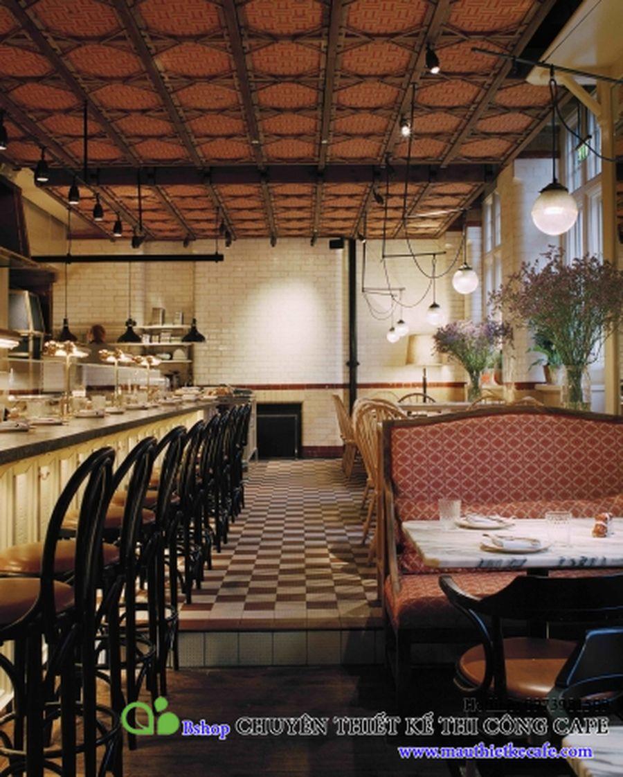 cafe nha hang biet thu phong cach chau au (7)mauthietkecafe.com