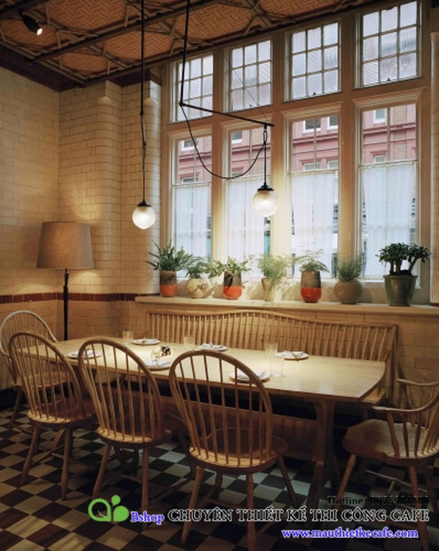 cafe nha hang biet thu phong cach chau au (8)mauthietkecafe.com