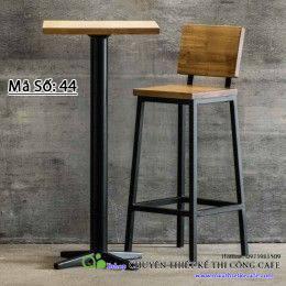 Bộ bàn ghế dáng cao