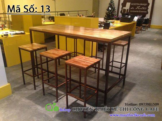 Tại sao nên lựa chọn bàn ghế cafe từ gỗ ảnh 3