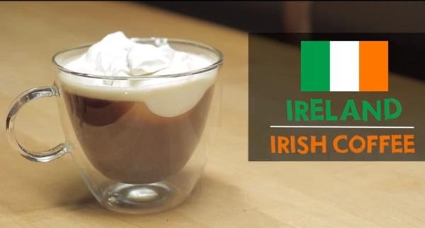 Các cách uống cafe trên thế giới phần 2 - Ireland
