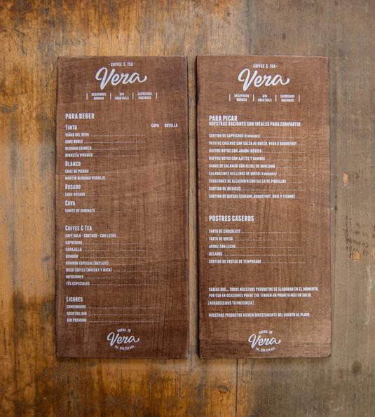 Mẫu menu cực chất cho quán cafe ảnh 4