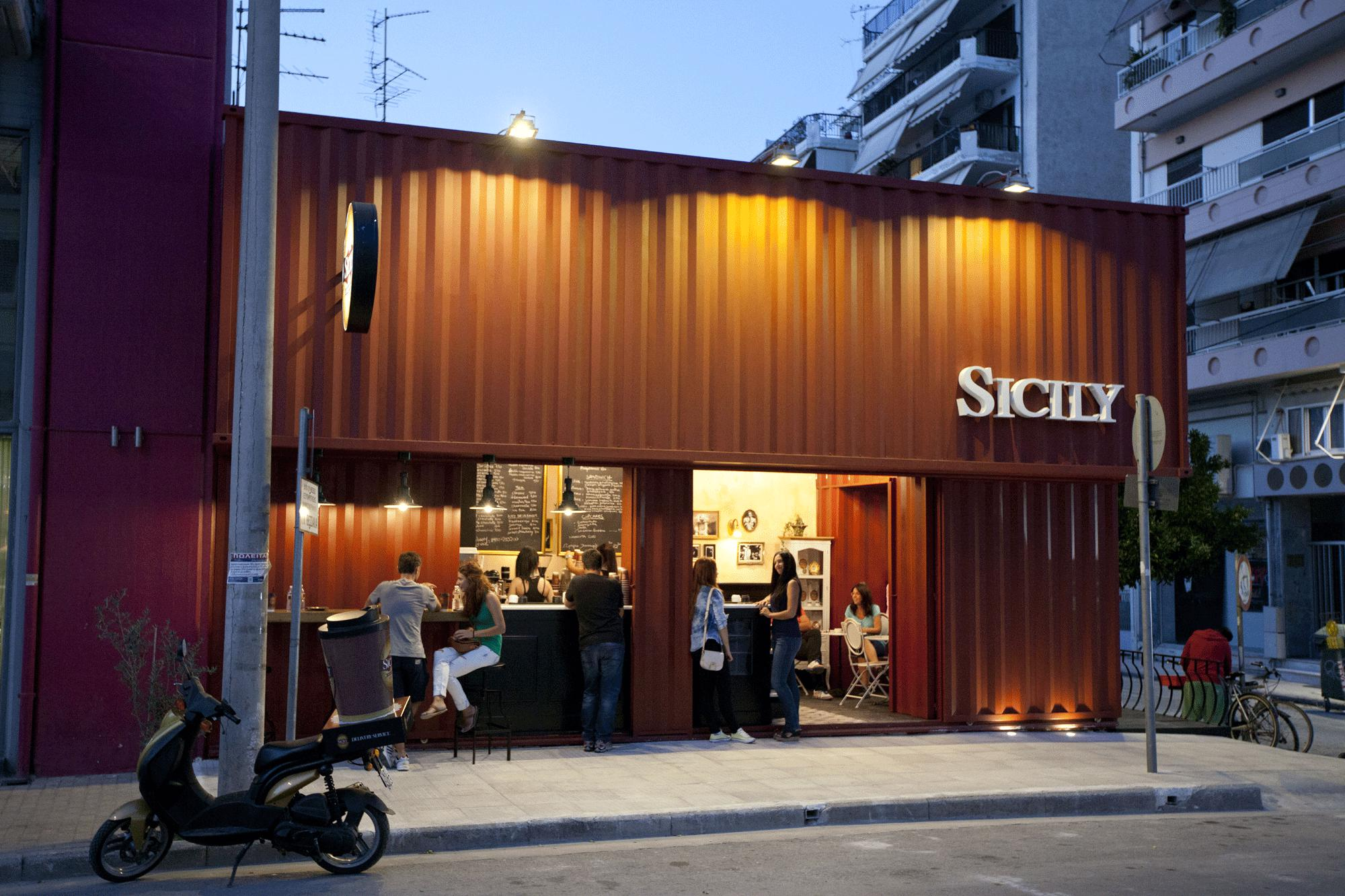 kinh doanh quán cafe container giảm thiểu rủi ro