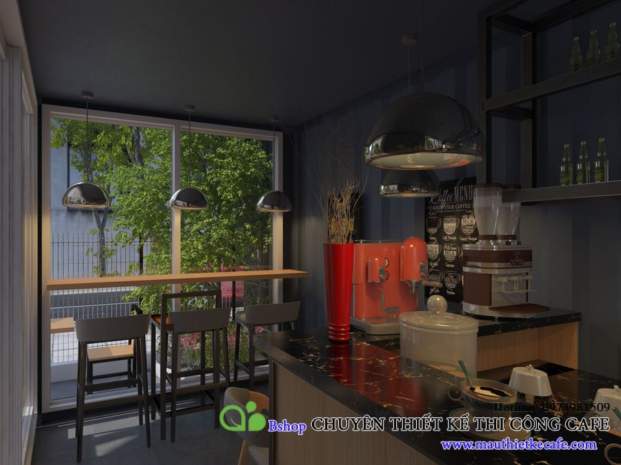 container cafe 3 tầng
