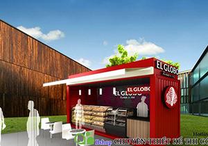 Thiết kế cafe container tiết kiệm chi phí mà đẹp