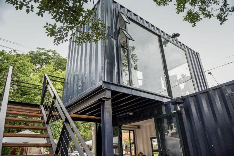 tư vấn mở quán cafe container