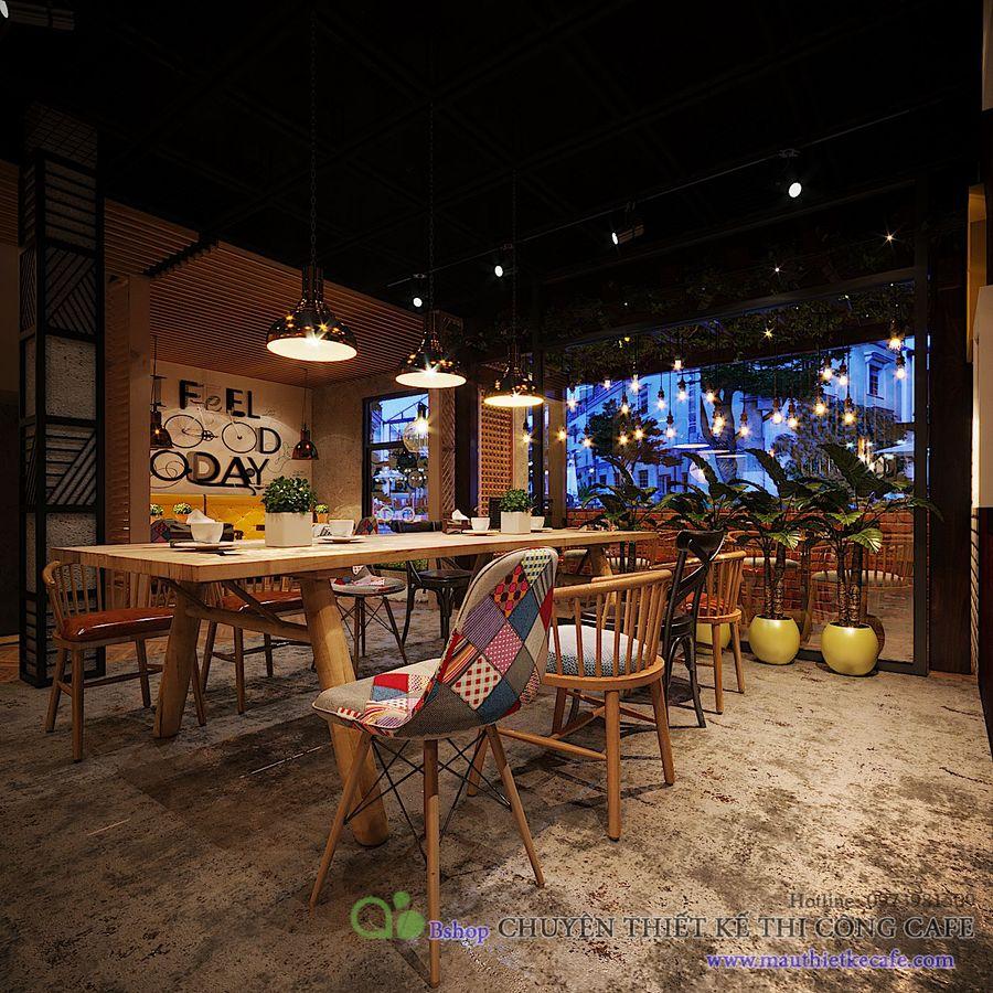 thiết kế quán cafe giá rẻ nhưng lung linh