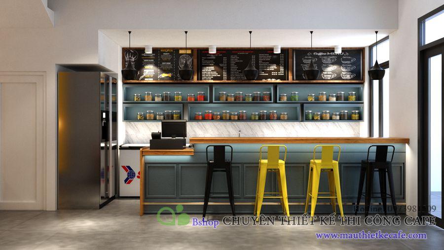 cách thiết kế quán cafe đơn giản nhưng vẫn sang trọng