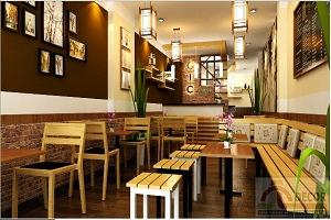 Thiết kế nhà ở kết hợp với quán café