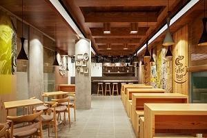 thiết kế quán cà phê nhà phố