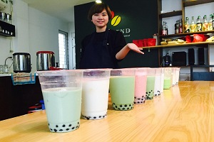 học pha chế trà sữa