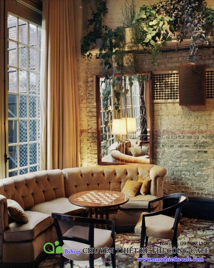 cafe nha hang biet thu phong cach chau au (17)mauthietkecafe.com