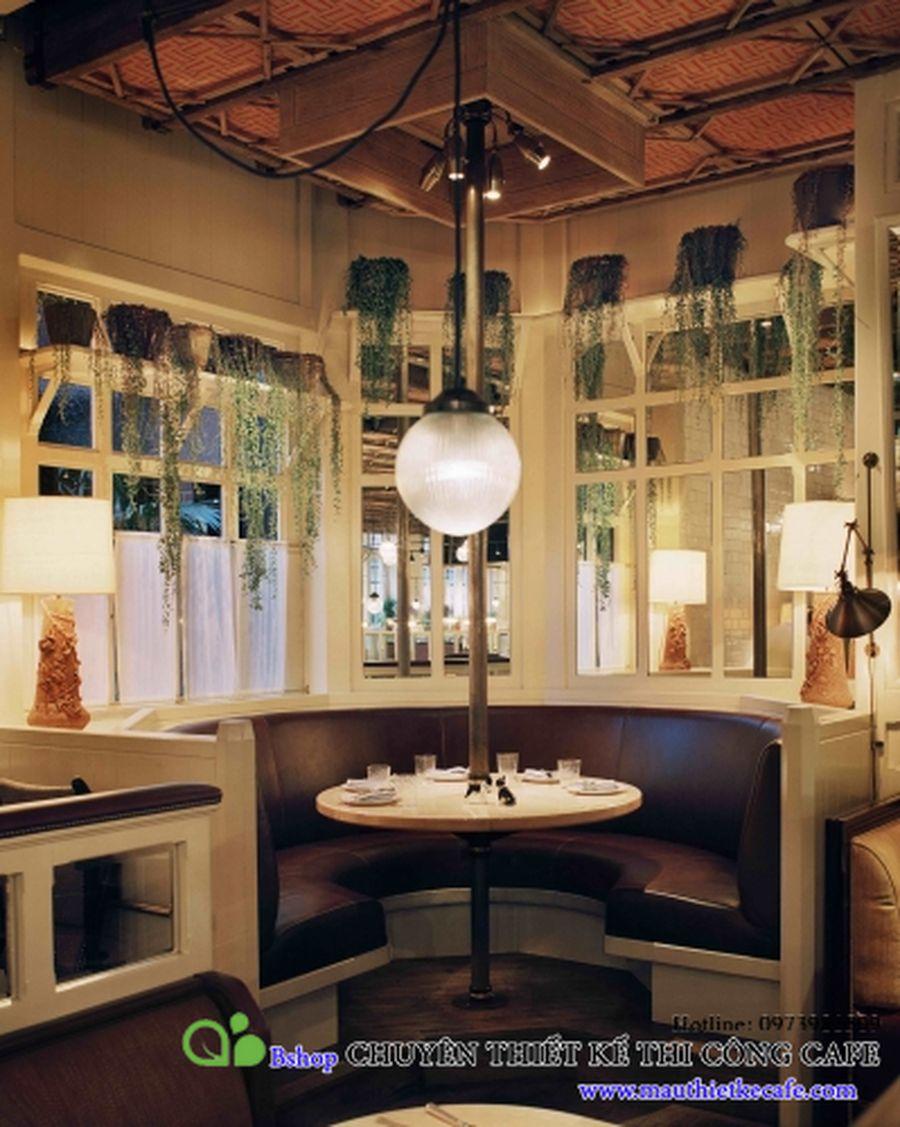 cafe nha hang biet thu phong cach chau au (6)mauthietkecafe.com
