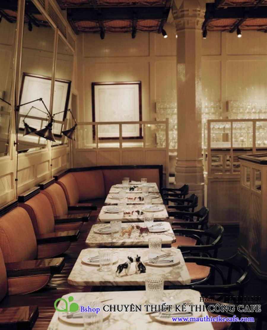 cafe nha hang biet thu phong cach chau au (9)mauthietkecafe.com