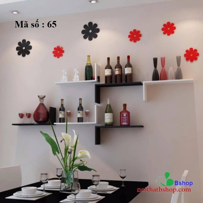 Giá đặt bình rượu treo tường