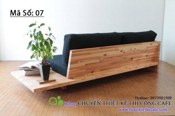 Ghế tựa gỗ