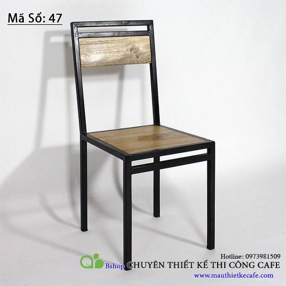 Ghế gỗ đơn
