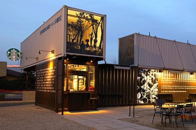 5 phong cách trang trí quán cafe container đẹp độc lạ ảnh 3