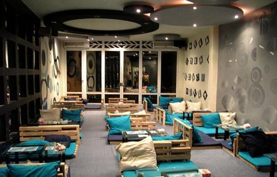 Cách trang trí quán cafe kiến trúc BOHEMIAN ảnh 3