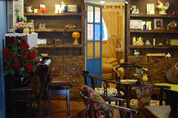 Cách trang trí quán cafe kiến trúc BOHEMIAN