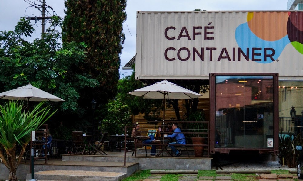 thiết kế quán cafe container 1