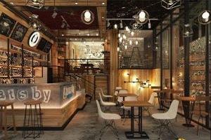 thiết kế quán cafe phong cách công nghiệp