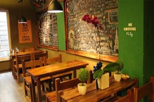 thiết kế quán cà phê rẻ đẹp