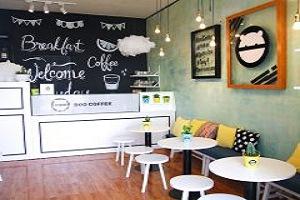 thiết kế quán cafe nhỏ đơn giản