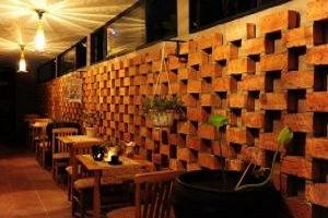 thiết kế quán cafe mộc